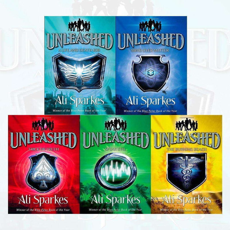 Unleashed Series 5 Books Collection Pack Set By Ali Sparkes Mind Over Matter
