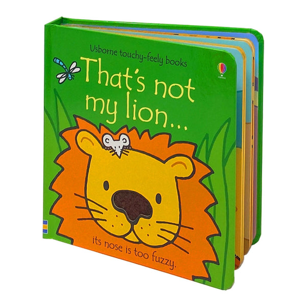 Usborne Thats Not My Lion (Touchy-Feely Board Books) Fiona Watt & Rachel Wells