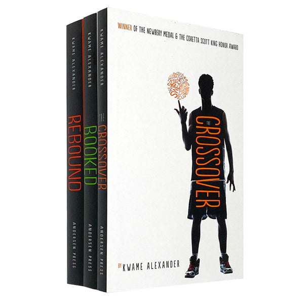 The Crossover Series 3 Books Collection Set by Kwame Alexander