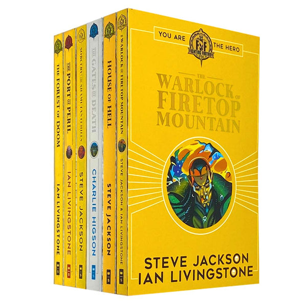 Fighting Fantasy Series 2 By Ian Livingstone 6 Books Collection Set Pack 7 to 12