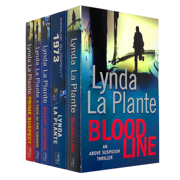 Lynda La Plante 5 Book Set Collection, Blood Line, Prime Suspect 1973...