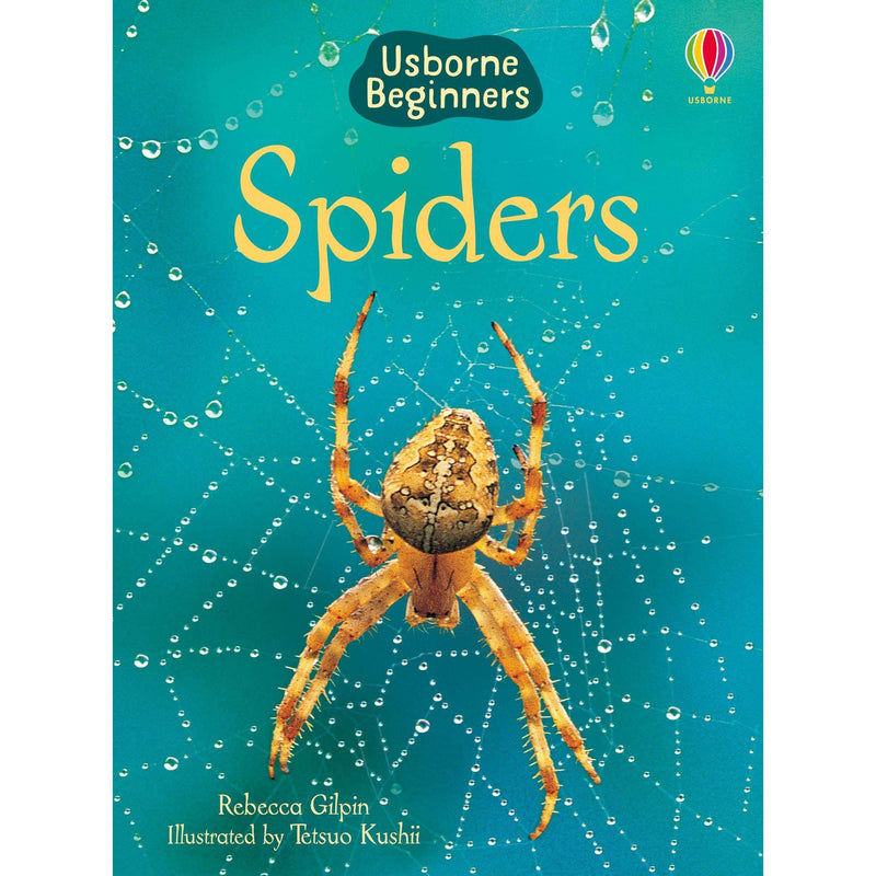 Usborne Beginners Nature 10 Books Set Collection (Ants, Bugs, Spiders, Trees)