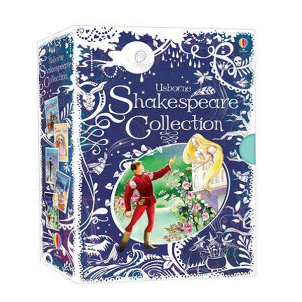 Usborne Children Shakespeare illustrated  Collection 5 Books Box Set - Deluxe Hardbacks