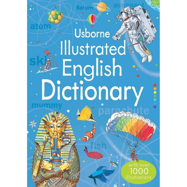 Usborne Illustrated English Dictionary with over 1000 Illustrations Jane Bingham
