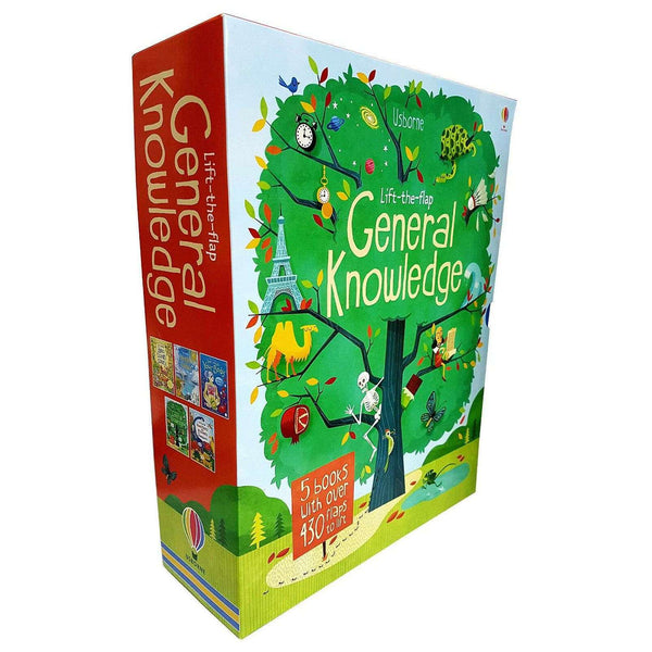 Usborne Lift The Flap General Knowledge 5 Books Collection Box Set