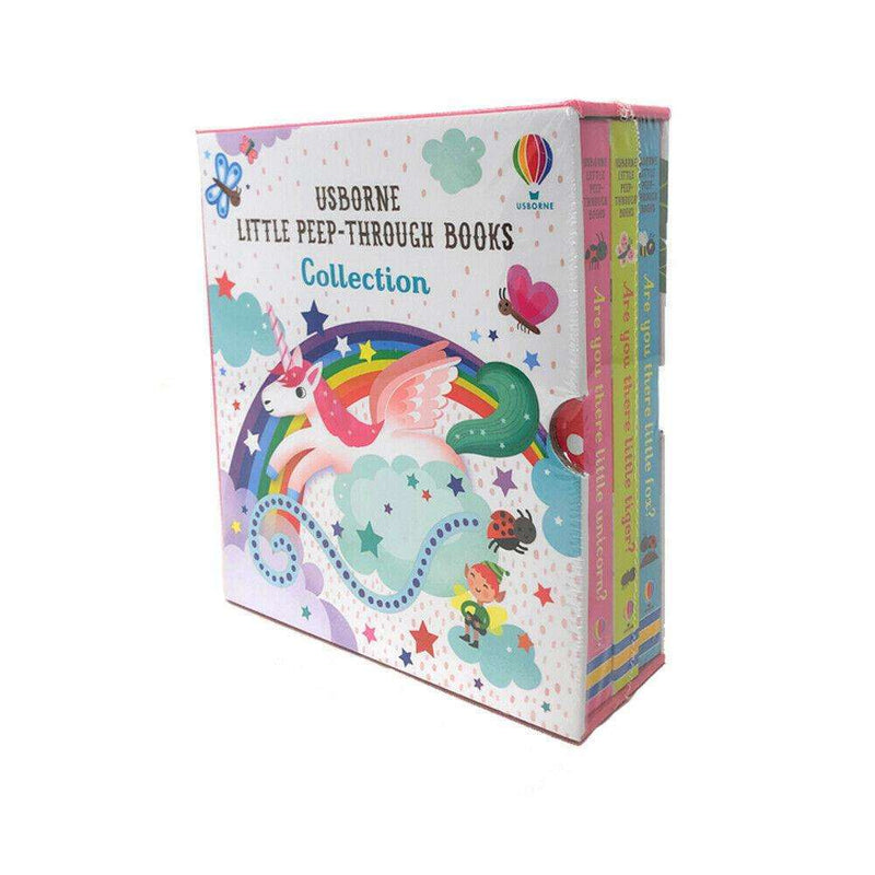 Usborne Little Peep Through 3 Book Box Set Collection Pack