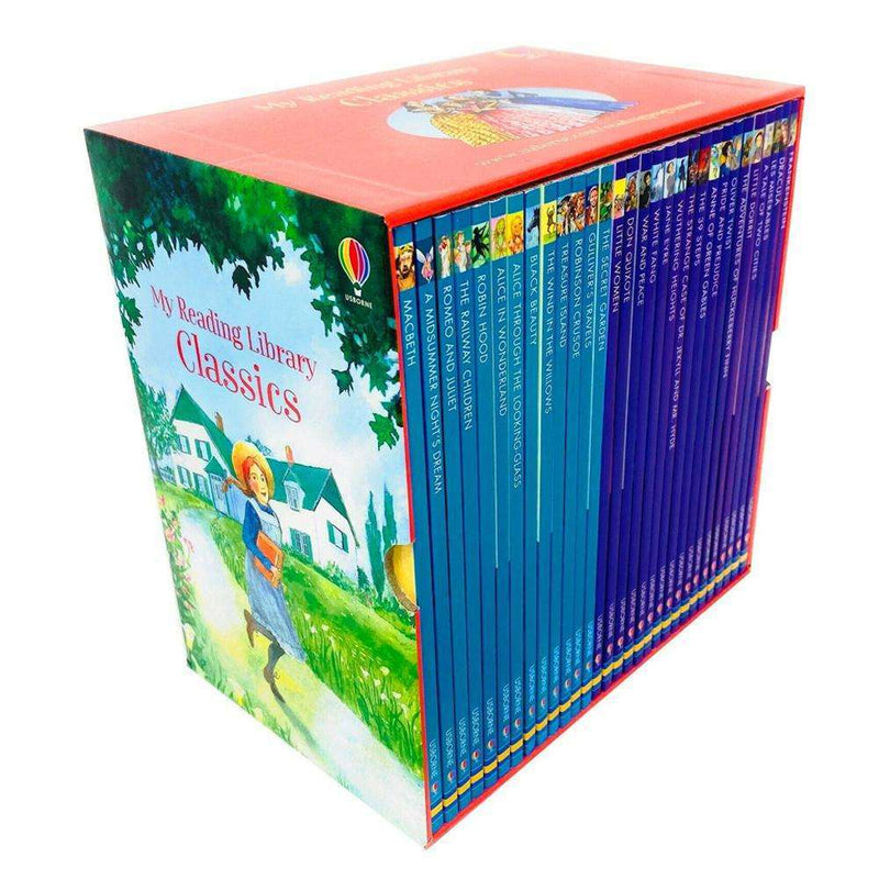 Usborne My Reading Library Classics 30 Books Box Children Collection Set