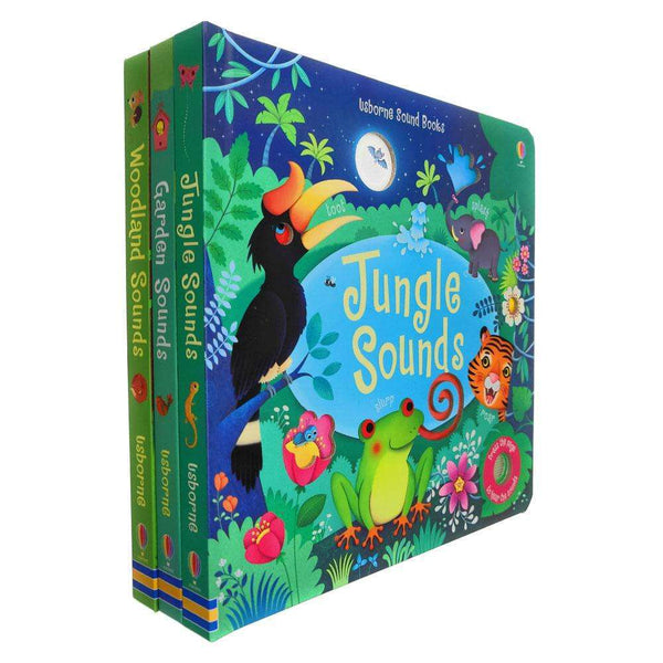 Usborne Sound Book Collection 3 Books Collection Set by Sam Taplin
