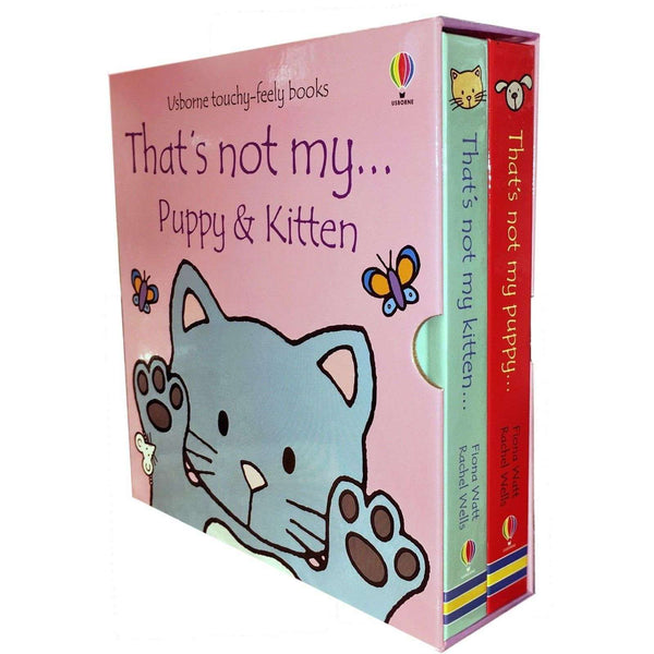 Usborne Touchy-Feely Thats not my Puppy and Kitten Collection 2 Books Set Pack
