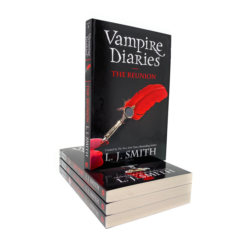 Vampire Diaries 4 Books The Awakening Collection Box Set by L. J Smith