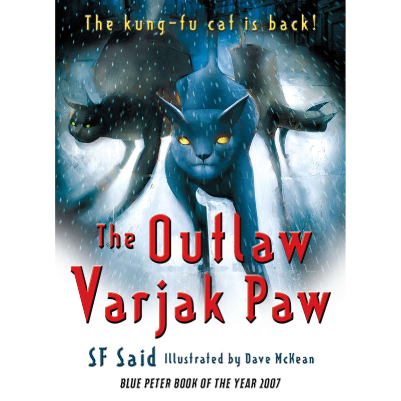 Varjak Paw,The Outlaw Varjak Paw,Phoenix 3 Books Collection Set By SF Said