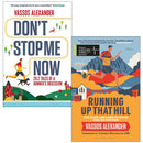 Vassos Alexander Collection 2 Books Set (Don't Stop Me Now, Running Up That Hill