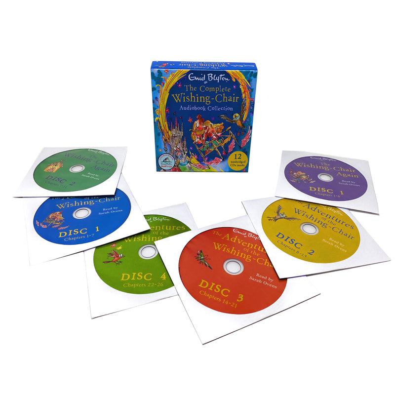 Enid Blyton The Complete Wishing Chair Audio Book Collection With 12 CDs Inside