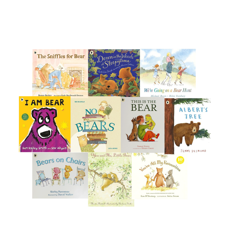 We are going on a bear hunt 10 Books Set Collection - Children Picture Flats