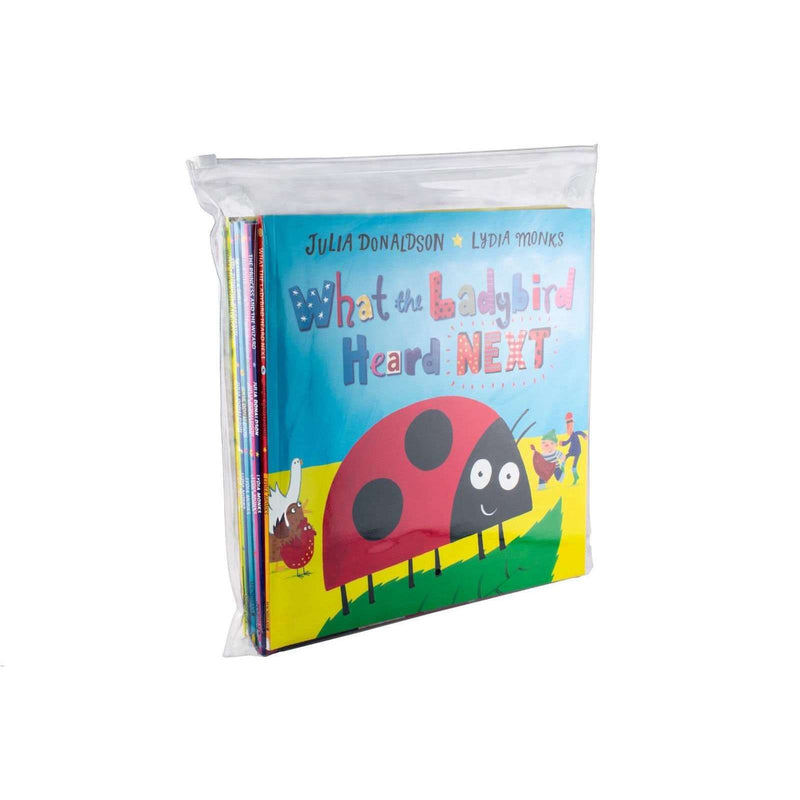 What the Ladybird Heard & Other Stories 8 Zip Lock Bag by Julia Donaldson