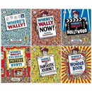 Wheres Wally 6 Book Set Collection by Martin Handford - Full Collection