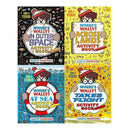 Wheres Wally Amazing Adventures and Activities Collection 4 Books Set