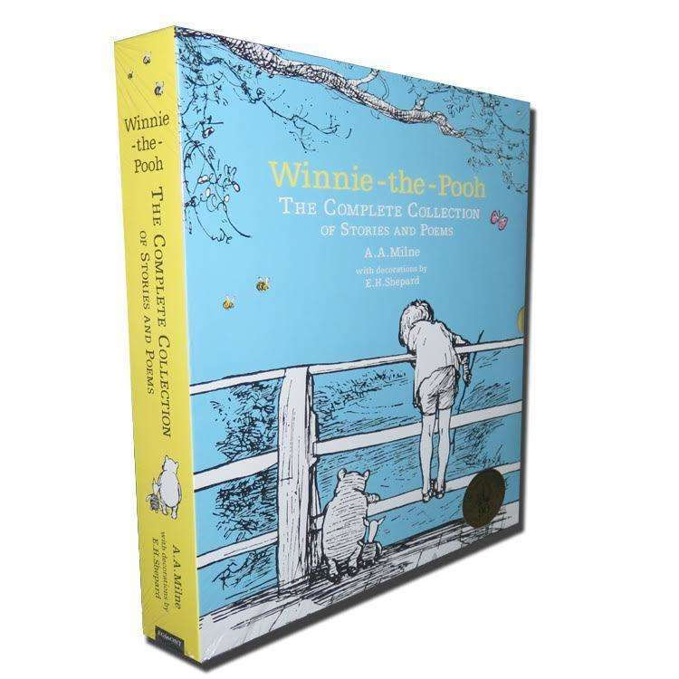 Winnie The Pooh The Complete Collection Of Stories And Poems Box Set A. A Milne