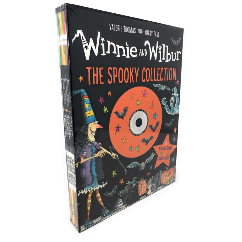 Winnie the Witch and Wilbur The Spooky Collection 6 Books & 2 CDs Valerie Thomas