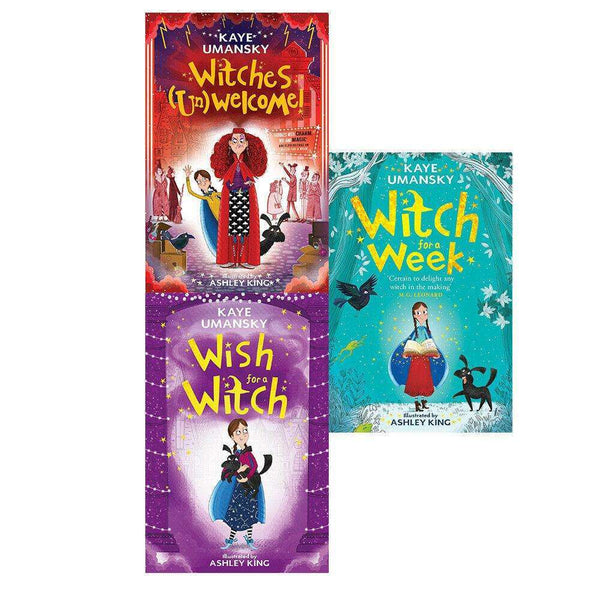Witch for a week Elsie Pickles Series 3 Books Collection Set By Kaye Umansky