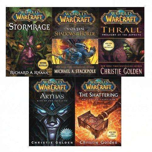 World of Warcraft Series Collection 5 Books Set Inc Arthas, Stormrage, Thrall