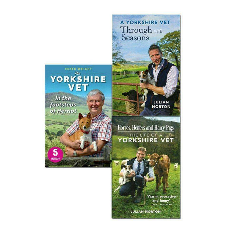 Yorkshire Vet 3 Books Set Collection Pack Through The Seasons