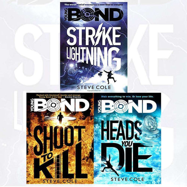 Young Bond Series Steve Cole 3 Books Set Collection