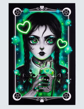 "Load image into Gallery viewer, Art Print ""Wednesday Adams"""