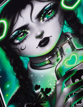 """Load image into Gallery viewer, Art Print """"Wednesday Adams"""""""