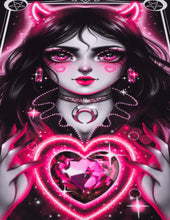 "Load image into Gallery viewer, Art Print ""Pink Devil"""