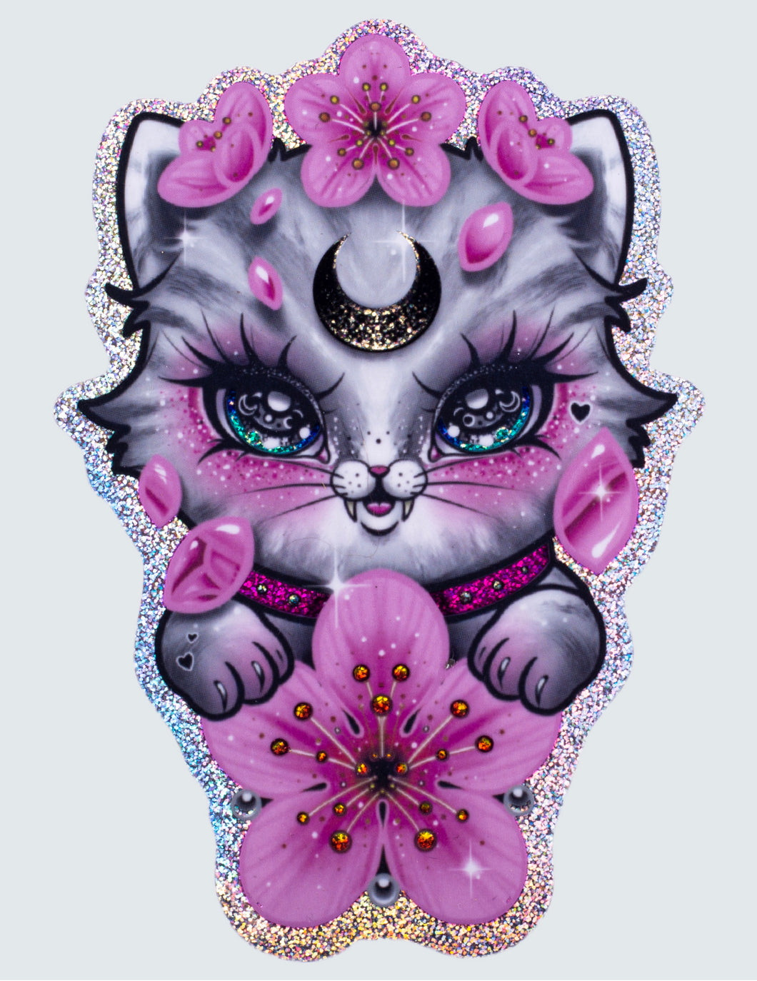 "Sticker ""Sakura Kitty"""