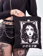"Load image into Gallery viewer, Totebag ""Bad Kitty"""
