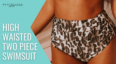 High Waisted Two Piece Swimsuit