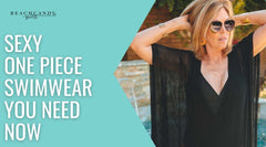 Sexy One Piece Swimwear You Need Now