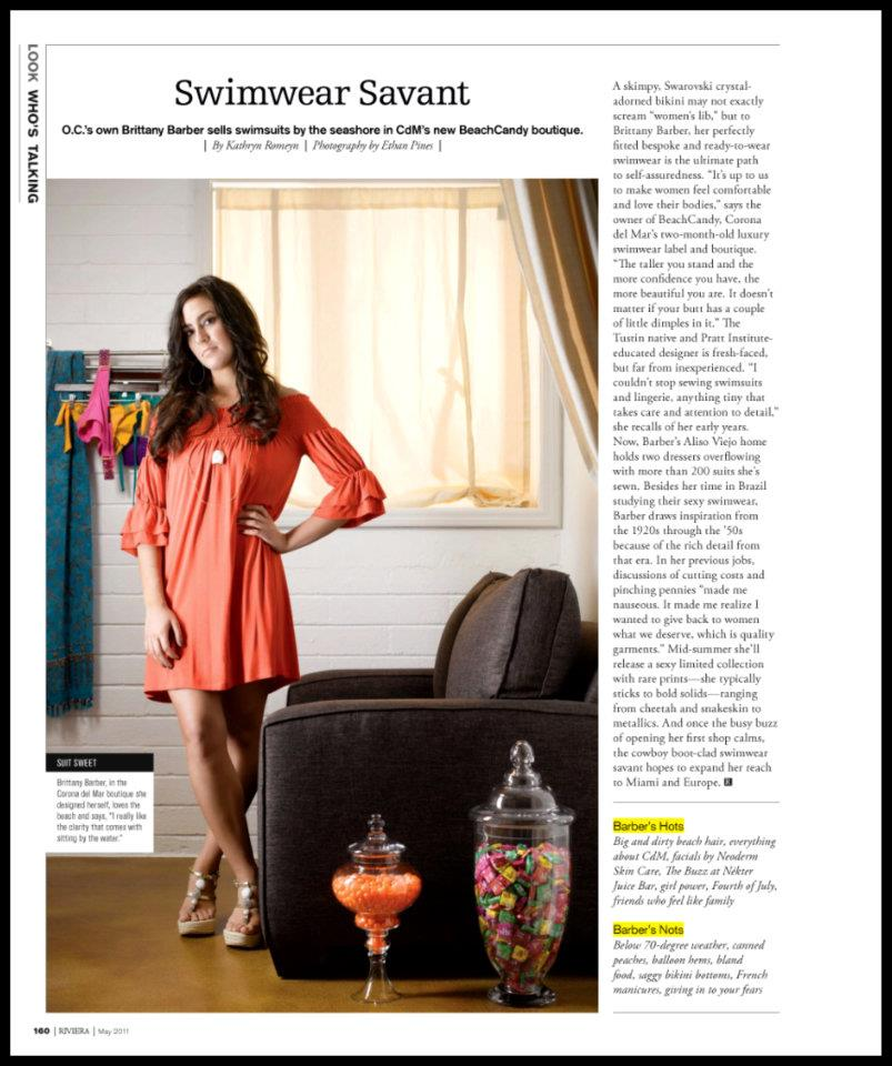 'Swimwear Savant' by Riviera Magazine