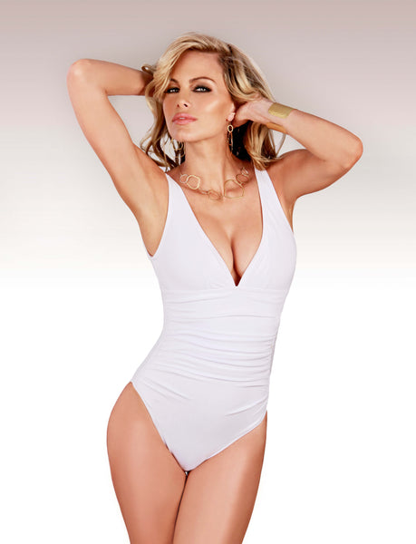 slimming one piece swimsuit