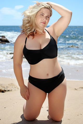 supportive underwire bathing suit top