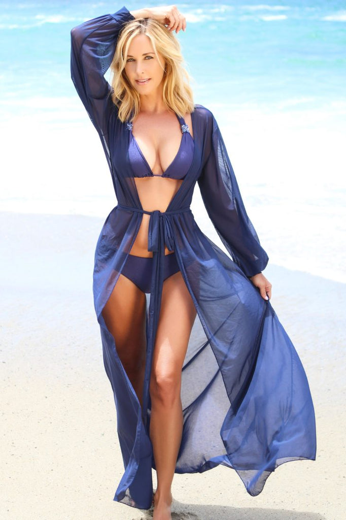 open tunic beach cover up