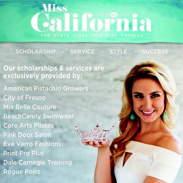 BeachCandy Miss California Swimwear