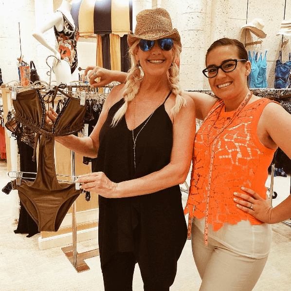 Erin Brockovich shops BeachCandy