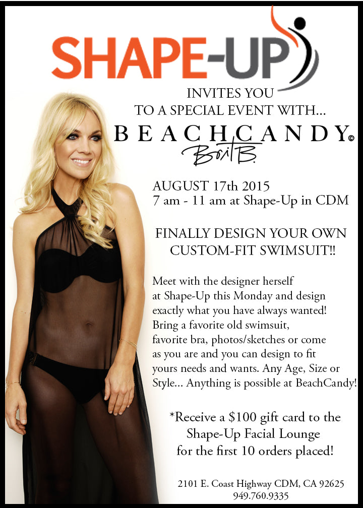 BeachCandy Luxury Gym Event