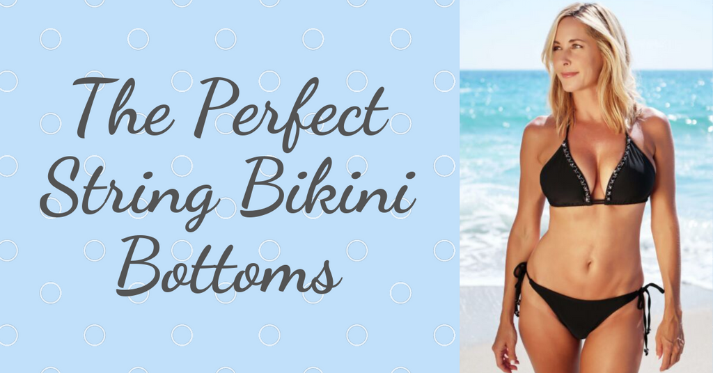 adjustable bathing suit bottoms for women