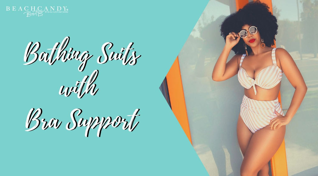 swimsuits with bra support
