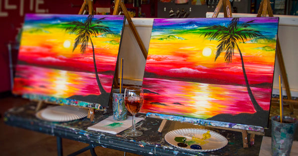 Paint & Wine Night