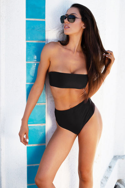 modest high waisted swimsuits