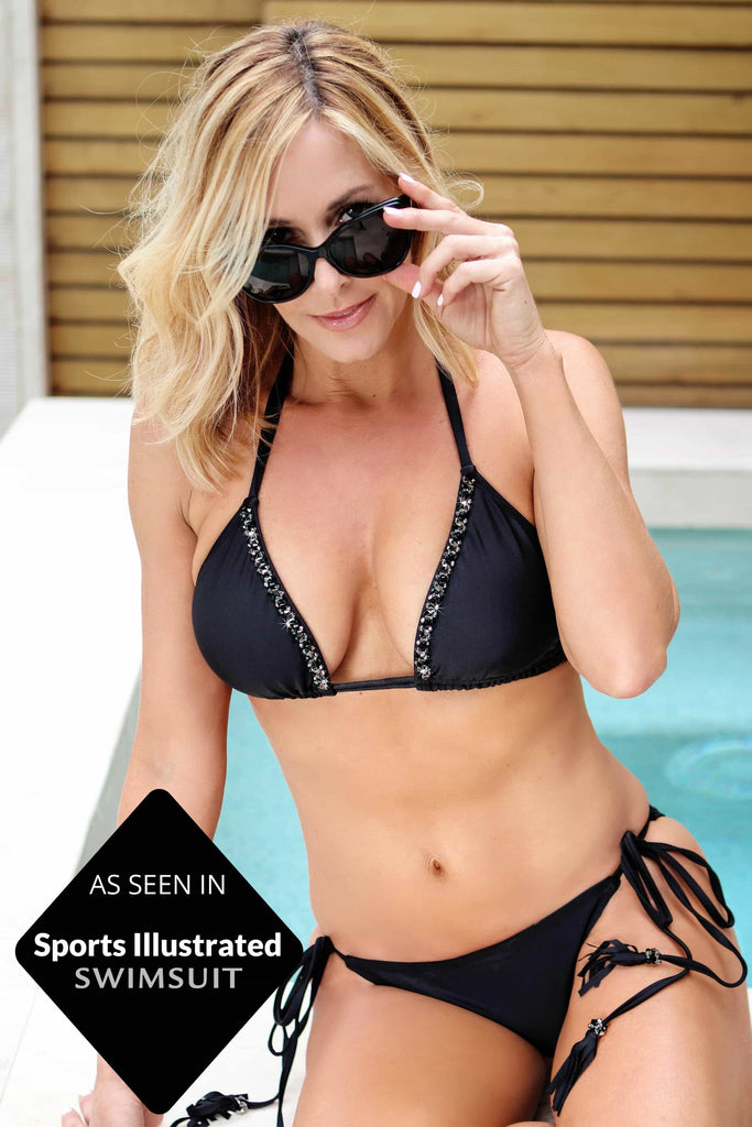 Sports Illusatrated Triangle Bikini Top