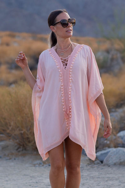 knitted tunic swimsuit cover up