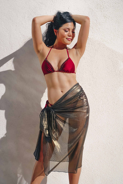 long sarong swimsuit cover up