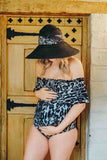 maternity ruffle bathing suits