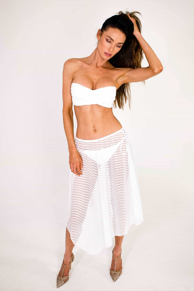 sexy beach skirt cover up